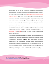 the getting pregnant plan pdf ebook by michelle adams truth and