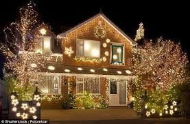 putting up your christmas lights earlier makes you happier daily