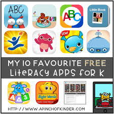 my 10 favourite free literacy apps for kindergarten a pinch of