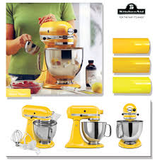 kitchenaid mixer colors yellow kitchen aid mixer home design ideas and pictures