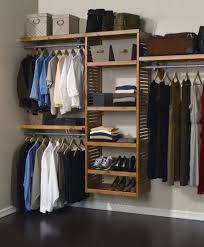 Hanging Closet Shelves by Breathtaking Floating Closet Organizers Idea With Nickel Railing