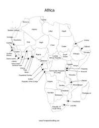 map of africa with country names printable map of africa africa printable map with country