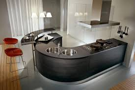 Kitchen  Attractive Modern Kitchen Decor Accessories With Black - Round sinks kitchen