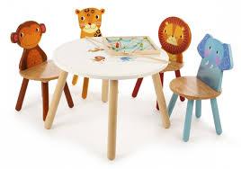 safari animal play table with 4 chairs for kids in sa