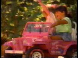 Power Wheels Barbie Truck Commercial Youtube