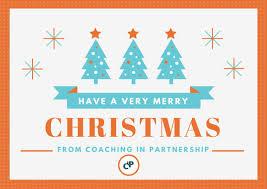 happy holidays merry christmas coaching partnership