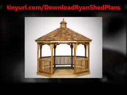 how to build a lean to style outdoor storage sheds youtube