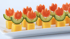 super mario fire flower appetizers nerdy nummies youtube