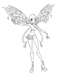 amazing winx club believix coloring pages winx club coloring