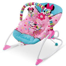 Baby Bath Chair Walmart Disney Baby Minnie Mouse Peekaboo Infant To Toddler Rocker