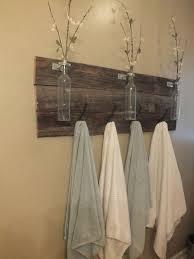 bathroom towel holder ideas muebles de palets para cuarto de baño cafetería