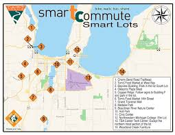 Commute Map Smart Commute Weektart Trails Inc