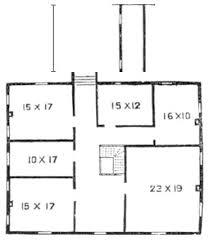 Plantation Style Floor Plans Southern Plantation 1852 Historic Plantatio House Plan