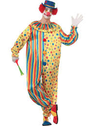 clown costumes mens spots the clown costume clown costumes