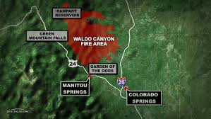 Colorado Wildfire Risk Map by Flood Risk Maps Released For Waldo Canyon Scar Cbs Denver