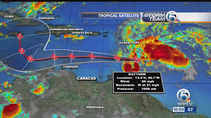 Map Of Puerto Rico Beaches by Tropical Storm Matthew Forms In The Caribbean Youtube