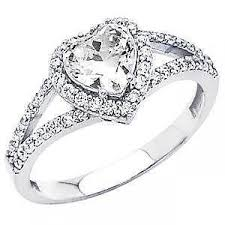 heart shaped wedding rings heart shaped diamond ebay