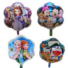 birthday balloons for men 18 inches princess flower foil balloons children birthday