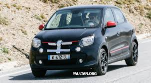 renault twingo 2014 spyshots new renault twingo rs on test to share an engine with