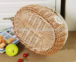 empty gift baskets hot sale flower empty gift baskets wicker wine basket decoration