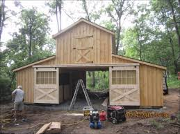 horse barn house combo metal homes cost monitor build youtube