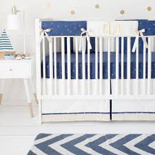 navy and gold crib rail cover set boy baby bedding navy crib