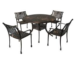 Cast Aluminum Patio Table And Chairs by Amazon Com Best Selling Sebastian Cast Aluminum Dining Set