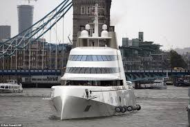 river thames boat brokers russian tycoon andrey melnichnko s 390 ft bombproof motor a yacht