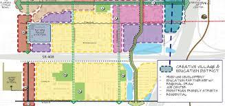 Orlando City Map by Parramore Comprehensive Neighborhood Plan For City Of Orlando