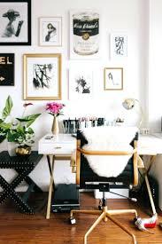 white and gold office desk decoration designer office desk