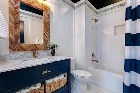 Bathroom Ideas Blue And White Awesome Navy White Bathroom Ideas Navy Blue And White Bathrooms
