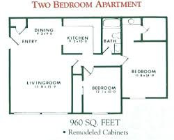 rent for two bedroom apartment 2 bedroom apartment floor plan for rent at willow pond apartments in