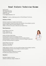 technician resume examples dialysis technician sample resume managed care pharmacist sample sample resume for dialysis technician resume for your job ideas of hemodialysis nurse sample resume in resume sample sample resume for dialysis