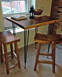 Bjursta Bar Table High Bar Table Amp Stools Custom Impact Imports Industrial Within