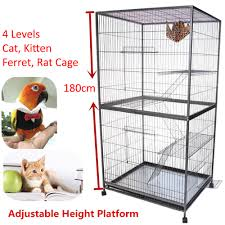 Large Ferret Cage Giant Ferret Rat Bird 3 In 1 Cage 1 8m Tall Rrp 580 Metal Wire