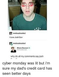 Shane Dawson Memes - we need a side by side comparison shane and josh bands