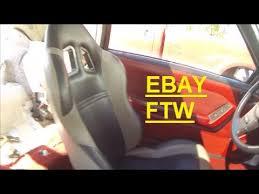 mustang seats ebay foxbody drift build ep 2 racing seats ebay