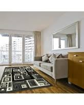 here u0027s a great deal on integrated geometric nylon print area rug 8x10