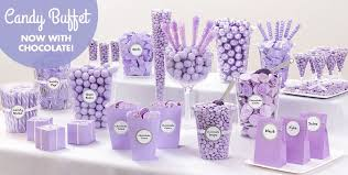 candy containers for favors lavender candy buffet supplies lavender candy containers