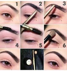 proper way to fill in eyebrows musely