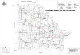 County Map Of Missouri Mogenweb Project Clark Co Township Maps