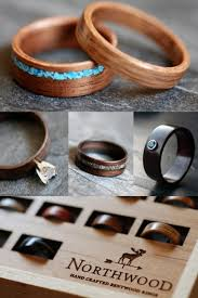 Wood Wedding Rings by Wood Rings Made By Northwood Clothing Pinterest Northwood
