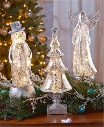 28 lighted trees home decor framed led tree snow lighted lighted trees home decor vintage crackle mercury glass look lighted angel tree