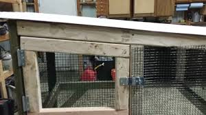 Homemade Rabbit Cage Diy Rabbit Hutch 3 Youtube