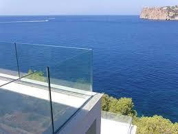 Glass Patio Fencing Best 25 Frameless Glass Balustrade Ideas On Pinterest Glass