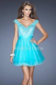 neck organza short length appliqued party prom dress uk