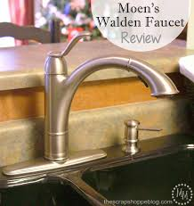 moen kitchen faucet review moen s walden faucet review the scrap shoppe