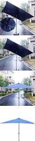 Lighted Patio Umbrella Solar by