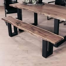 sitzbänke esszimmer bänke aus holz metal fürs esszimmer ebay