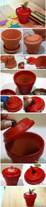 771 best clay pot crafts images on pinterest pots clay pot